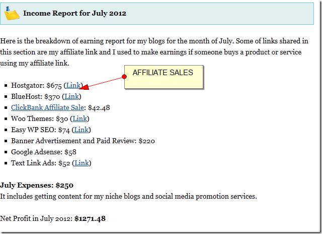 FireShot Screen Capture  003 My Monthly Income and Traffic Report for July 2012 bloggerspass3 Case study: Why one blogger made $1271 and another garbage with the same traffic?