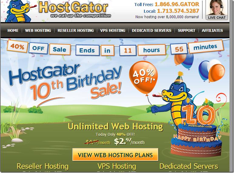 Reseller Hosting VPS Hosting and Dedicated Servers by HostGator hostgator com 40% off on Hostgator webhosting, limited time offer