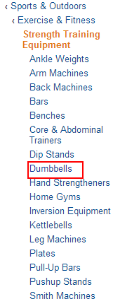 Amazon Best Sellers best Strength Training Equipment dumbbells How to find out hot niches from Amazon?